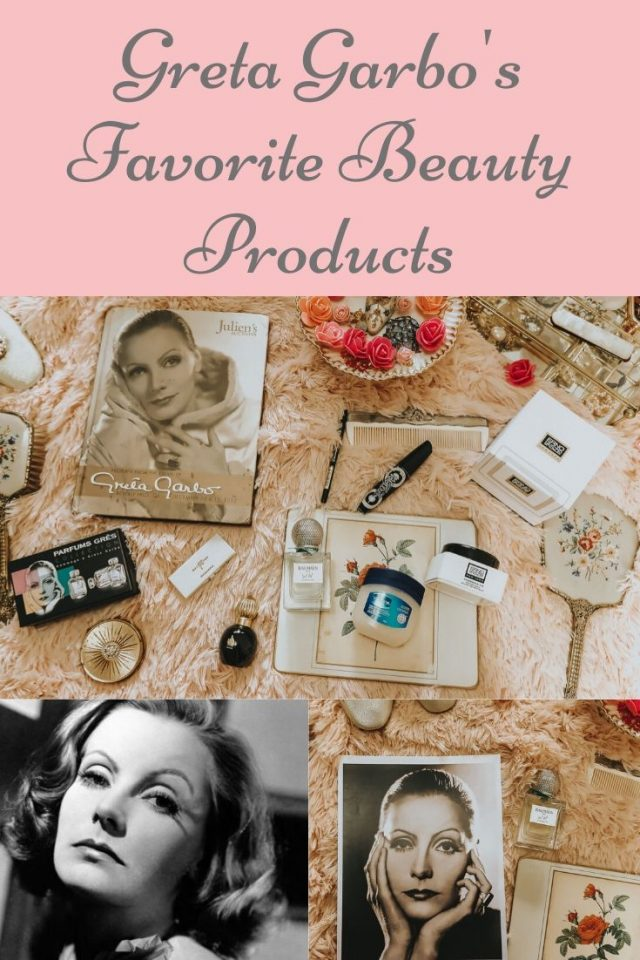 Greta Garbo's favorite beauty products that you can still buy today, Greta Garbo, od Hollywood, 1930s makeup, Greta Garbo Perfume, Old Hollywood glam,