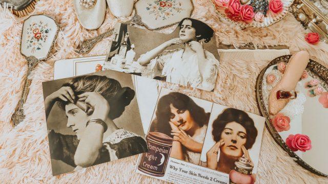 Edwardian skincare routine, Edwardian Makeup, Edwardian Beauty products, Vintage Beauty Routine, LBCC Apothecary