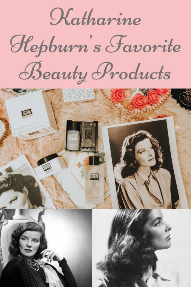 Erno Lazlo, Vintage Erno Lazlo, Katharine Hepburn's favorite beauty products you can still buy today, Katharine Hepburn beauty routine, katharine Hepburn, Katharine Hepburn style,