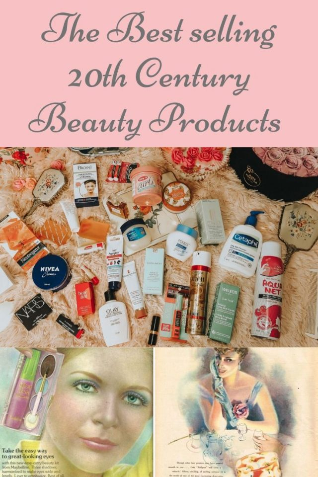 best selling beauty products of all time, the best selling beauty products from the 20th century, best drugstore makeup, best selling vintage inspired drugstore makeup, vintage skincare, vintage cosmetics, Old Hollywood beauty products,