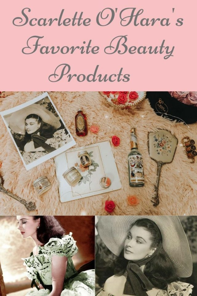 Scarlett O'Hara's Favorite Beauty products, LCBB Apothecary, 19th century beauty products, civil beauty products, Florida water, gone with the wind florida water, gone with the wind beauty prodcuts, Vivien Leigh