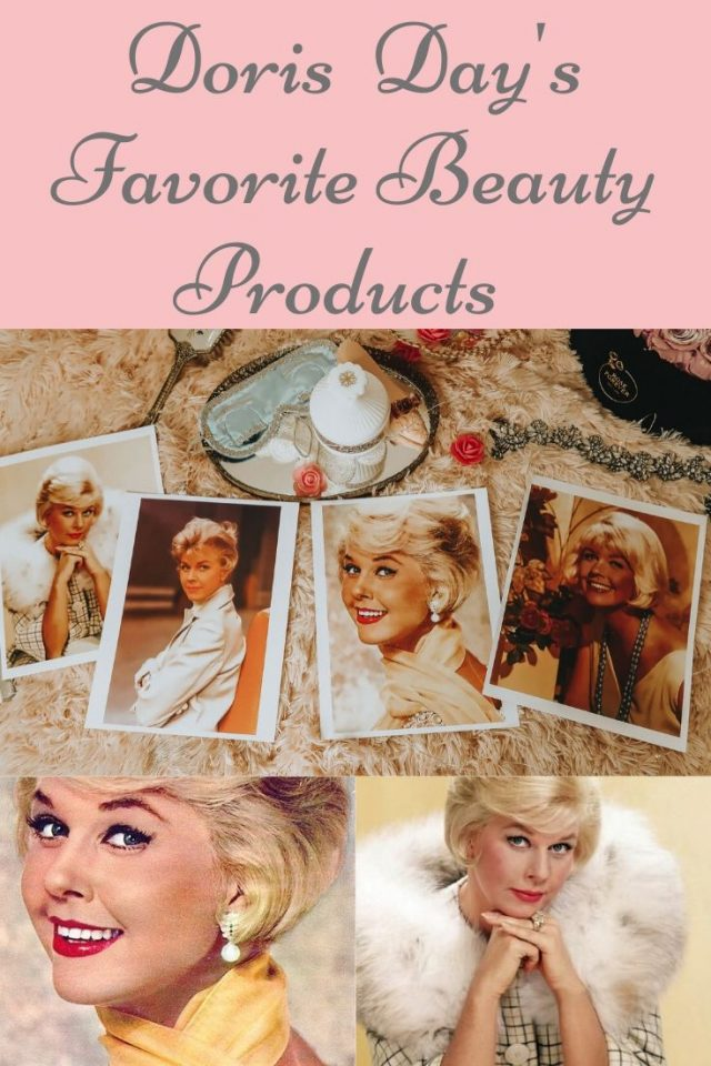 Doris Day's favorite beauty products, Doris Day, Doris Day beauty secrets, Doris Day's favorite perfumes, Doris Day's Estate, Doris Day Makeup