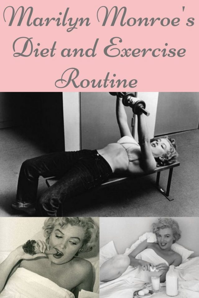 Marilyn Monroe's diet and exercise routine, Marilyn Monroe Diet, Marilyn Monroe recipes, Marilyn monroe grocery shopping list