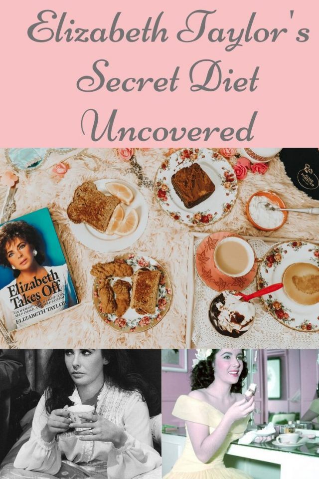 ELIZABETTH TAYLOR'S diet, Elizabeth takes off, Elizabeth taylor, old hollywood diets, vintage diet