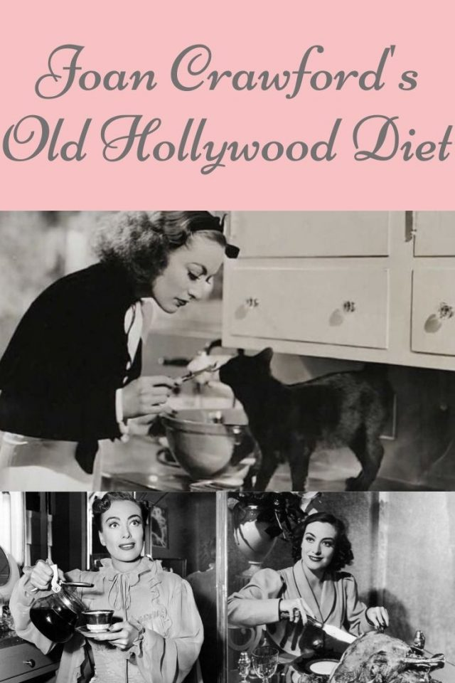 Joan Crawford Joan Crawford Diet, Joan crawford secret diet, Joan crawford recipes, Joan crawford detox diet, Joan crawford favorite foods, Joan crawford my way of life,