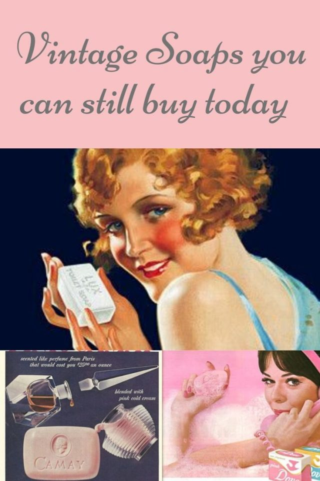 vintage soaps you can still buy today, vintage soap, vintage camway soap, vntage ivory, vintage beauty products, vintage soap