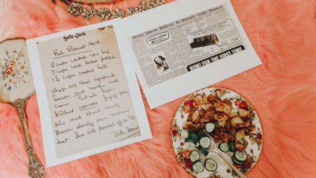 Bette Davis Diet, Bette Davis, Bette Davis favorite foods, Bette Davis recipes, Bette Davis old hollywood diet,