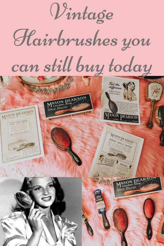 Vintage hairbrushes you can still buy today, vintage hairbrush, vintage hairbrushes