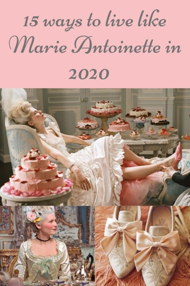 15 ways to live like Marie Antoinette in 2020, Marie Antoinette beauty routine, Marie Antoinette diet, Marie Antoinette's favorite things