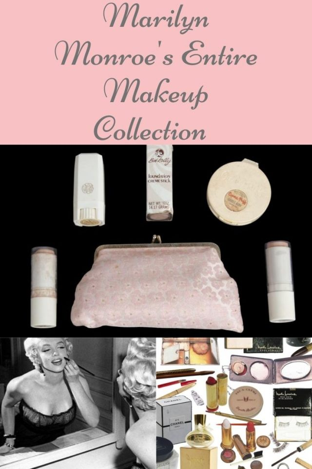 Marilyn Monroe's entire makeup collection that you can still buy today, marilyn monroe, marilyn monroe makeup, marilyn monroe's favorite beauty products that you can still buy today,