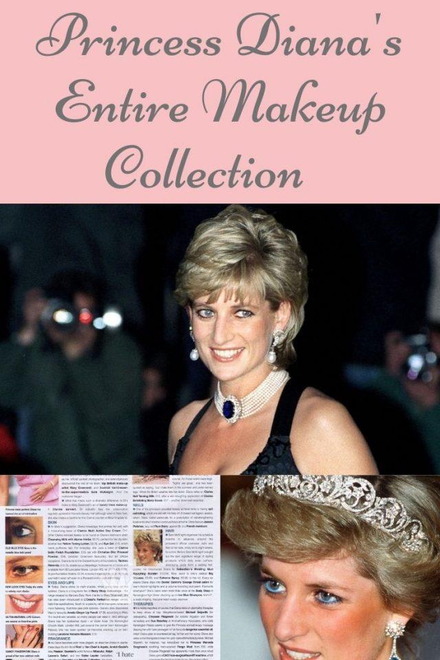 Princess Diana's favorite beauty products, Princess diana's beauty secrets, Princess Diana beauty routine, princess diana perfume