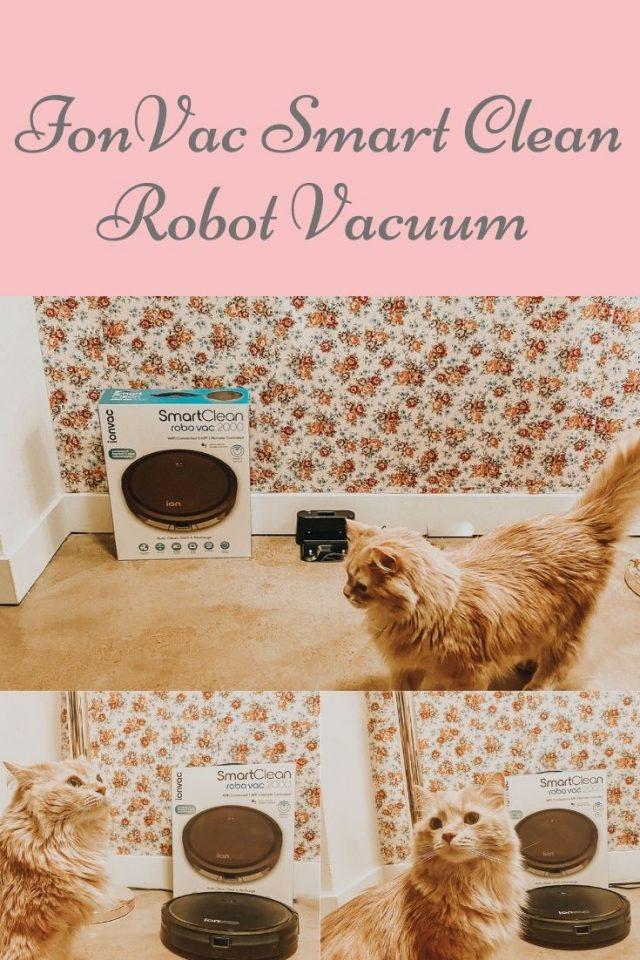 ionVac SMART CLEAN ROBOT VACUUM
