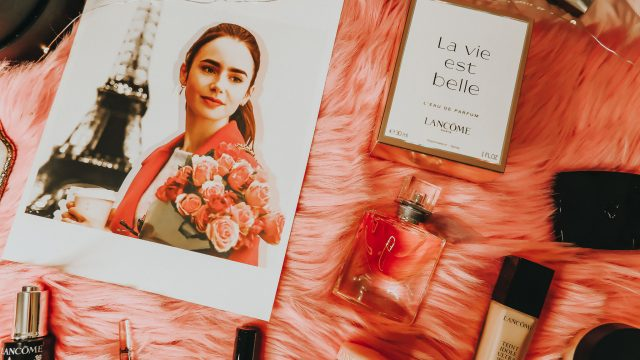 Emily in Paris, Lily Collins skincare, Lily Collins beauty routine, lily collins makeup Emily in Paris, Emily in Paris skincare routine, Lily Collins in Emily in Paris