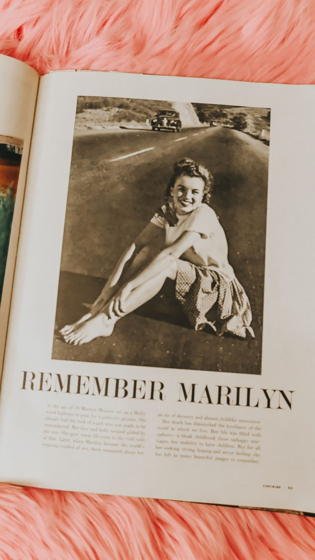 Marilyn Monroe's last Interview, Marilyn Monroe life magazine, last talk with a lonely girl