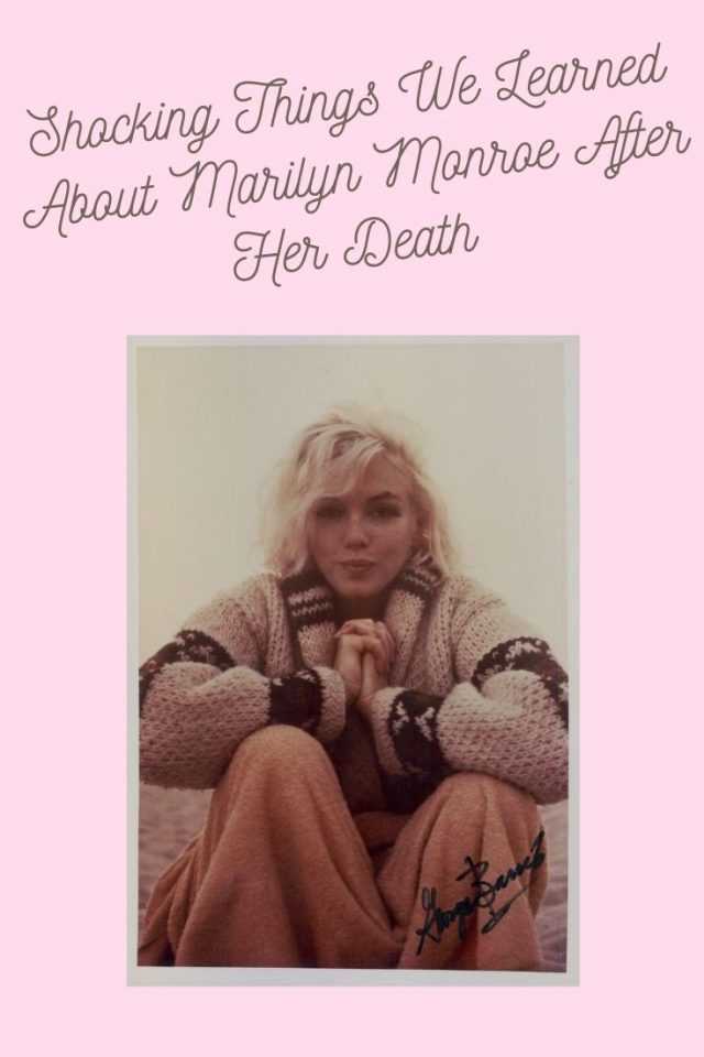 Shocking things we learned about Marilyn Monroe after her death, Marilyn Monroe Murder, Marilyn monroe death, Marilyn Monroe Conspiracy theories, Marilyn Monroes favorite things