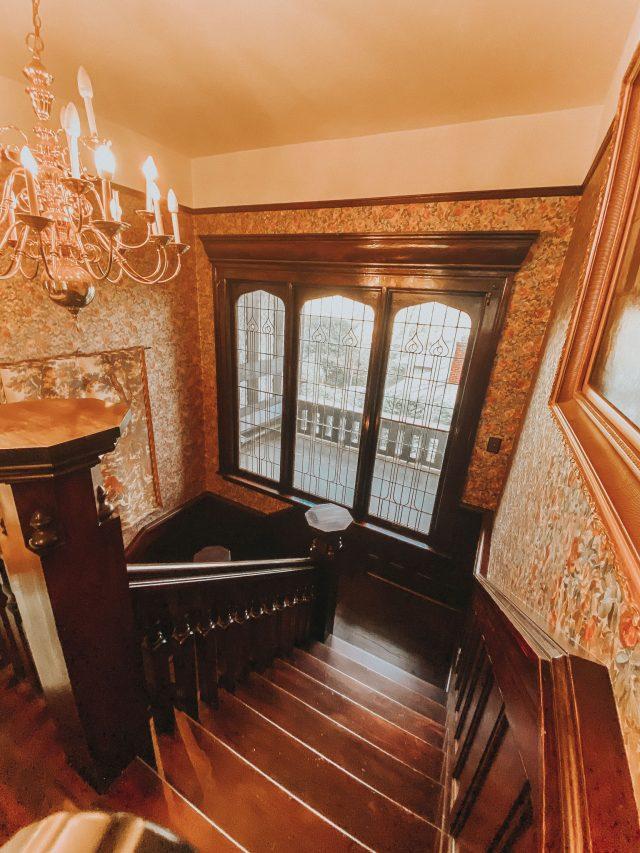 Vintage Mansion Tour, Vintage House Tour, Edwardian Mansion Tour, Edwardian mansion, Tudor Revival home