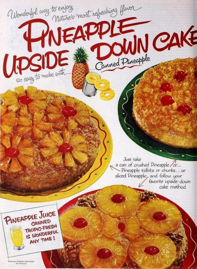 Vintage Recipes: Baking a Pineapple Upside-down Cake