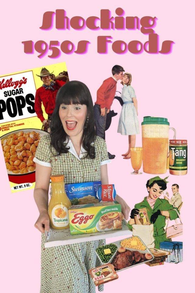 1950s food, vintage food, 1950s pop culture, 1950s lifestyle, 1950s diet