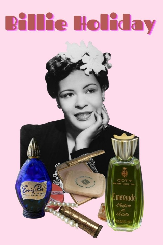 Billie Holiday's Favorite Beauty products, Billie Holiday Beauty Routine, Billie Holiday perfume, Billie Holiday interview, The United States versus Billie Holiday