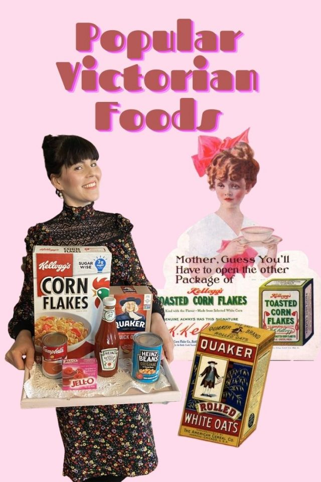 Victorian Foods, What did people eat in victorian times, victorian era foods, Victorian foods, 19th century foods, History of pepsi, history of coke, victorian era foods you can still buy today