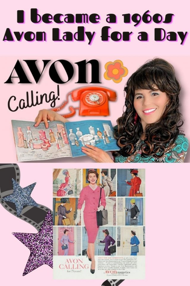 1960s Avon Lady I became a 1960s Avon Lady for a Day, Vintage Avon Collection, 1960s Avon, Vintage Avon Lady