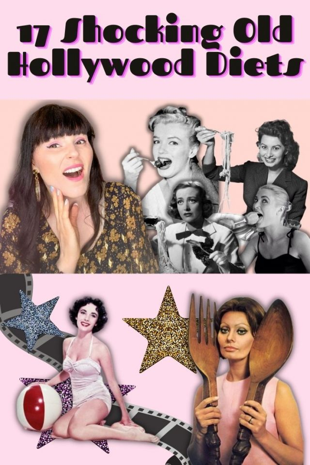 Old Hollywood Diets, shocking Old Hollywood Diet, Marilyn Monroe Diet, Elizabeth Taylor Diet,