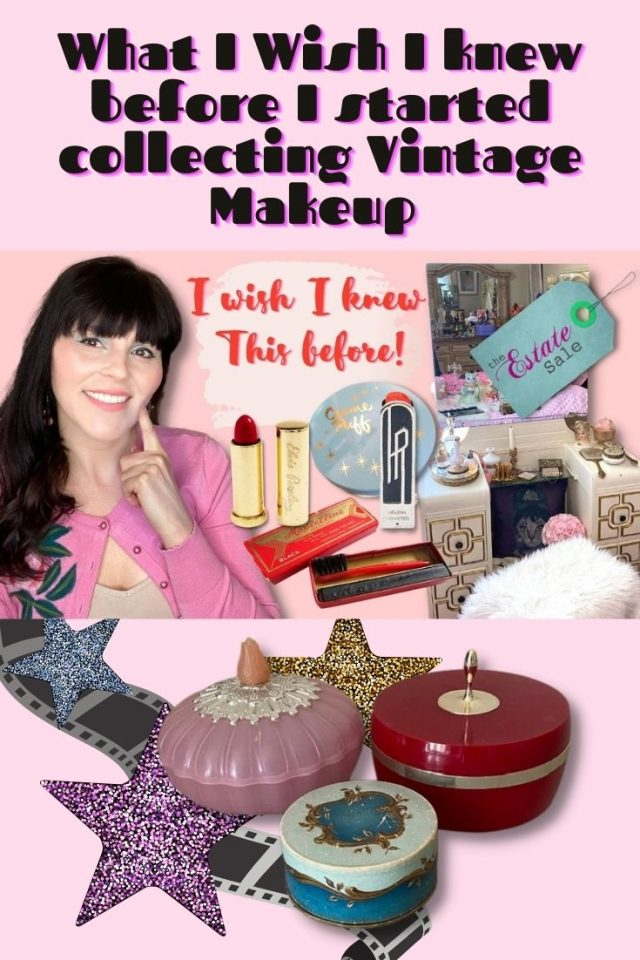 how to collect vintage makeup, Vintage makeup collection, What I wish I knew before collecting vintage makeup,