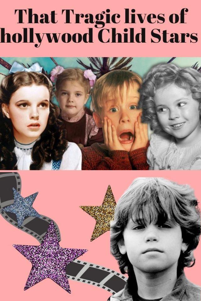 Old hollywood child stars, tragic hollywood child stars