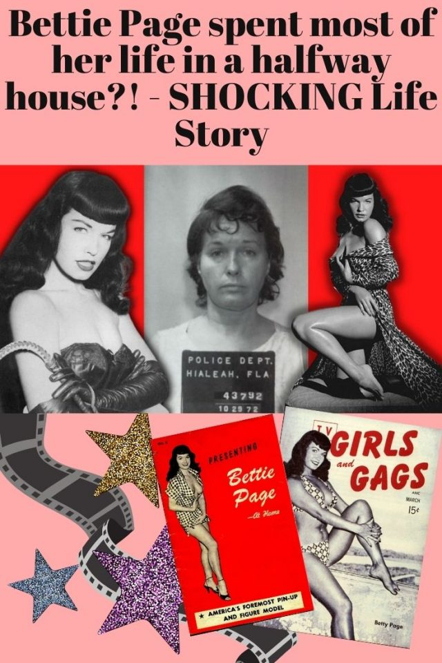 Bettie Page spent most of her life in a halfway house?! - SHOCKING Life Story