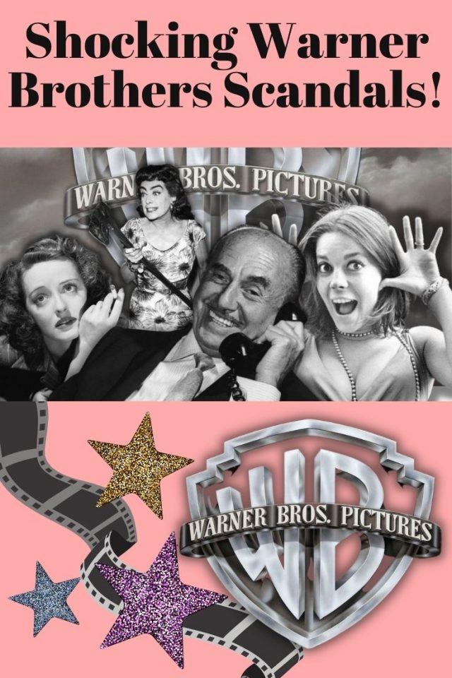 old hollywood Scandals, Shocking Warner brothers scandals,