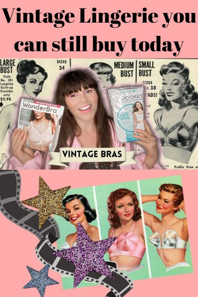 Vintage lingerie you can still buy today, Vintage lingerie, vintage bras, vintage undergarments