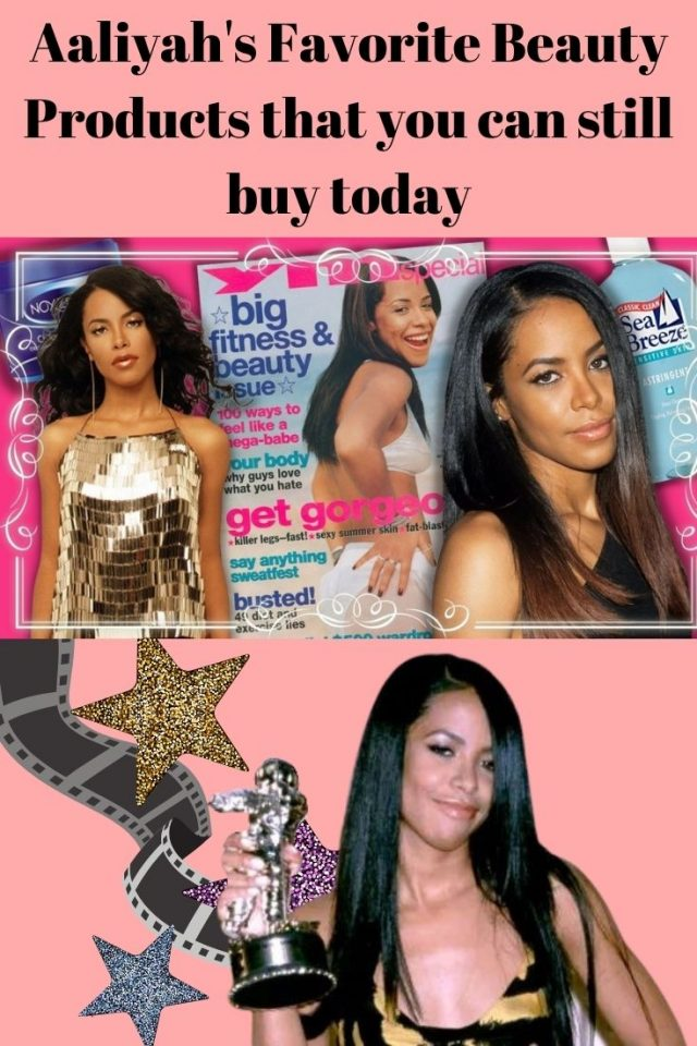 Aaliyah's Favorite Beauty Products that you can still buy today