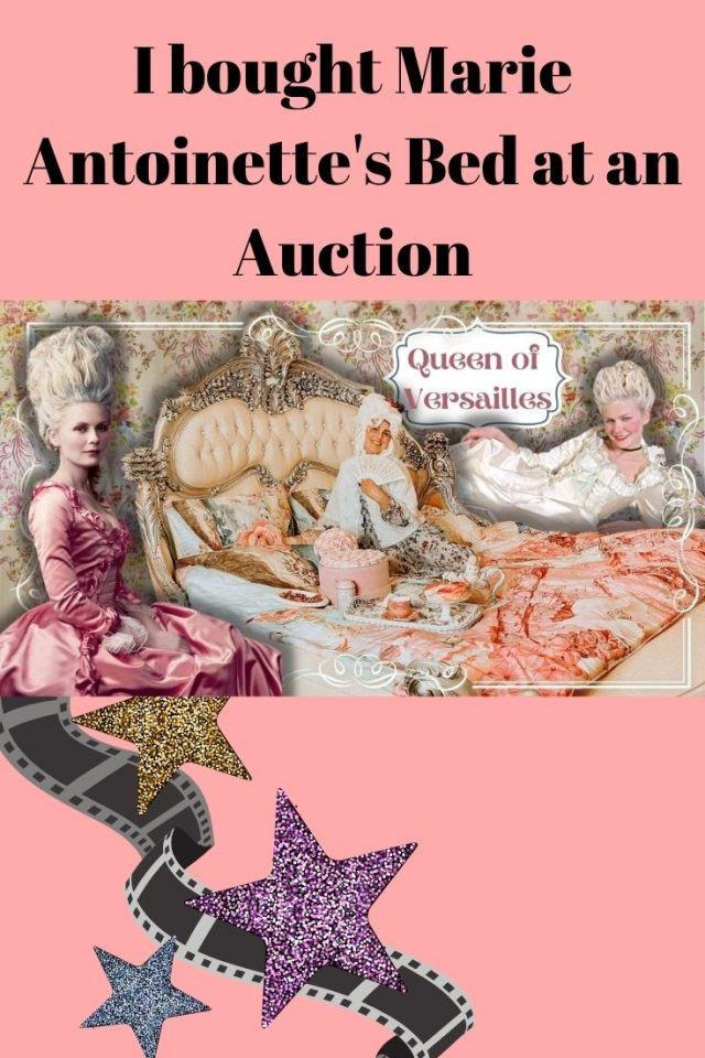 I bought Marie Antoinette's Bed at an Auction. Guess how much it was?